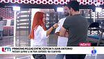La Mañana - Cepeda y Juan Antonio discuten tras el segundo pase de micros