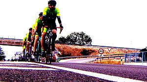 Atención, ciclistas