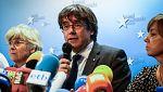 """Puigdemont dice estar """"preparado"""" para ir a la cárcel y que no hay """"otra alternativa que ir todos juntos"""" al 21D"""
