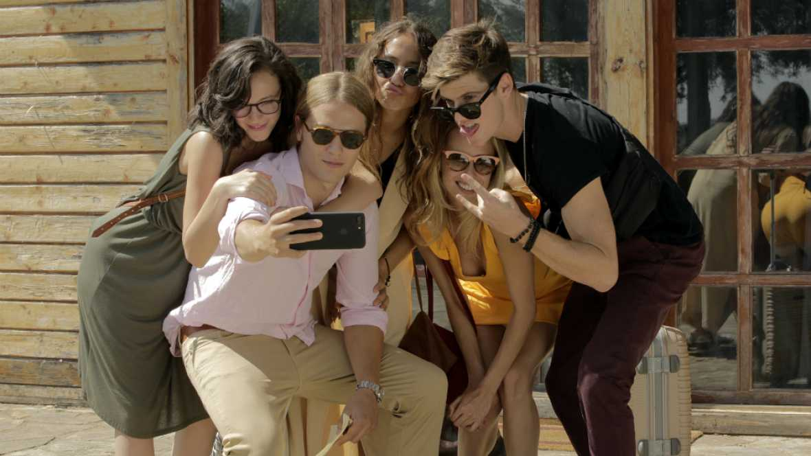 """Inhibidos - """"Me llamo Juan y os presento a mis amigos: Claudia, Toni, María y Lidia"""""""