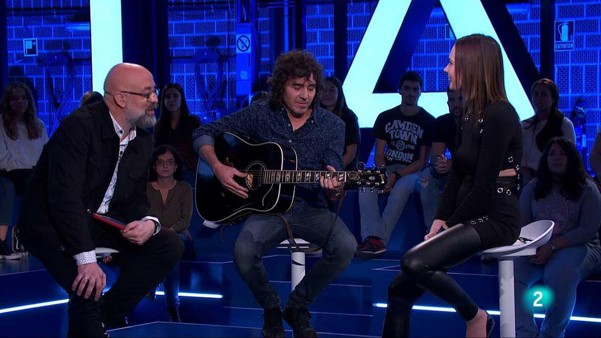 El compositor, cantante y guitarrista Rubén Pozo