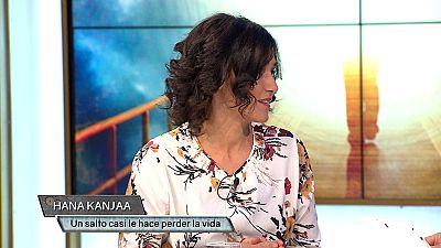 Hana Kanjaa estuvo a punto de perder la vida tras un accidente saltando en paracaídas