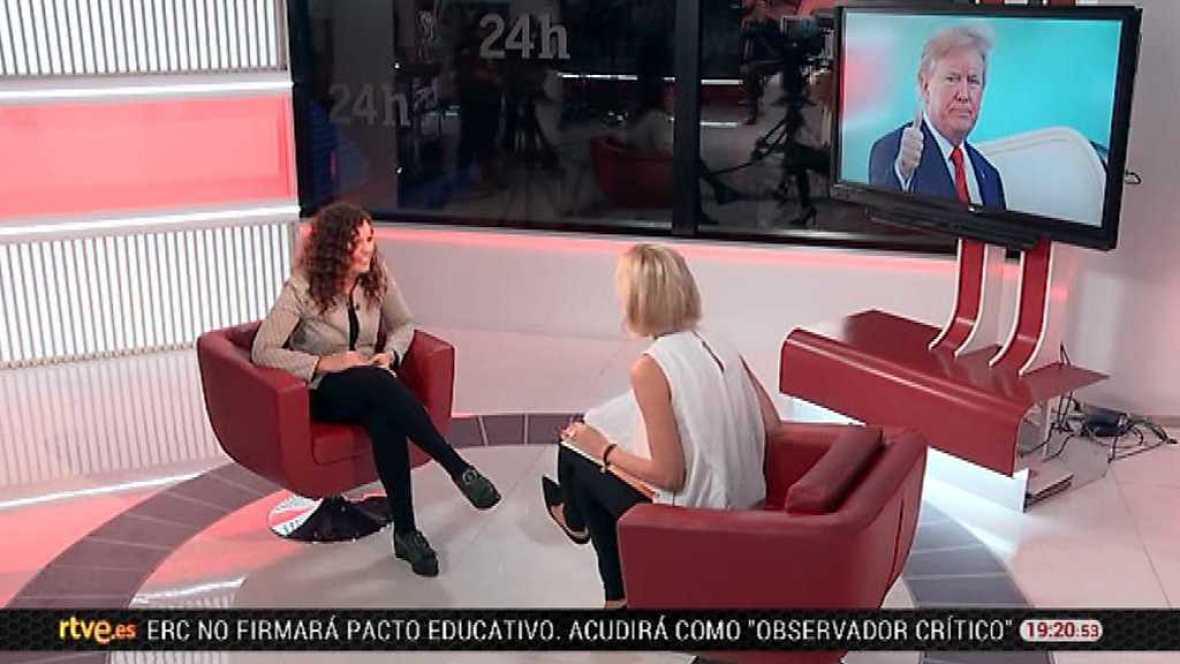 La tarde en 24 horas - Entrevista - 07/11/17 - ver ahora