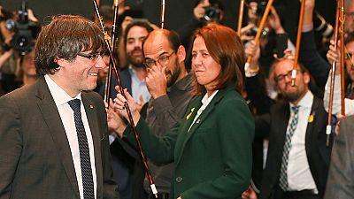 """Puigdemont, a la UE: """"¿Continuarán ayudando a Rajoy en este golpe de Estado?"""""""