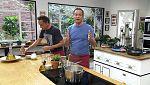 Torres en la cocina - Escabeche mar y montaña. Trucha con panceta