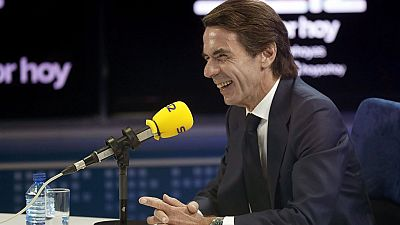 José María Aznar, dice que no conoció ningún tipo de contabilidad irregular en el PP