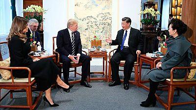 Donald Trump trae a China la propuesta de revisar el tratado de comercio bilateral