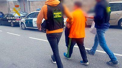 La Guardia Civil de Pontevedra detiene a un presunto violador en serie que actuaba en O Morrazo