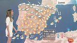 Lluvias en La Palma, extremo oriental cantábrico y Baleares