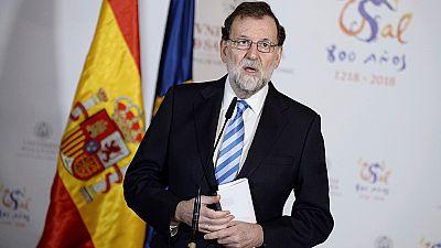 """Rajoy confía en que tras el 21D haya una """"situación de moderación y tranquilidad"""" en Cataluña"""