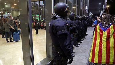 Barcelona comienza a recuperar la normalidad después de la jornada de huelga