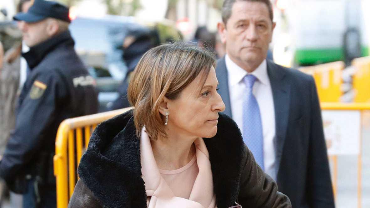 """El juez señala la """"actuación principal"""" y el """"liderazgo"""" de Forcadell en el proceso independentista"""