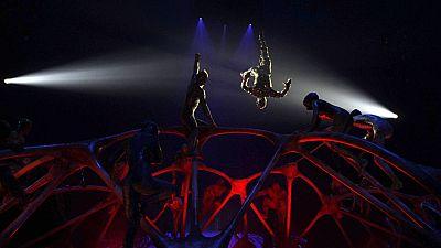 La carpa del Circo del Sol abre sus puertas en Madrid