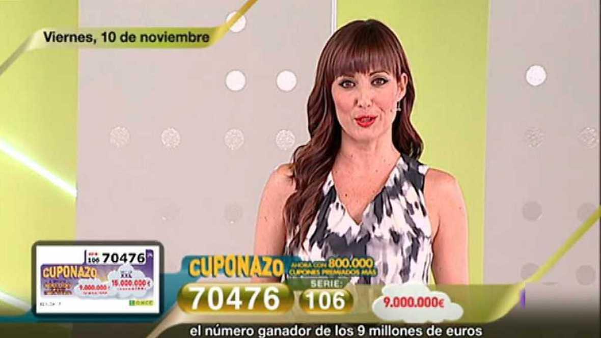Sorteo ONCE - 10/11/17 - ver ahora