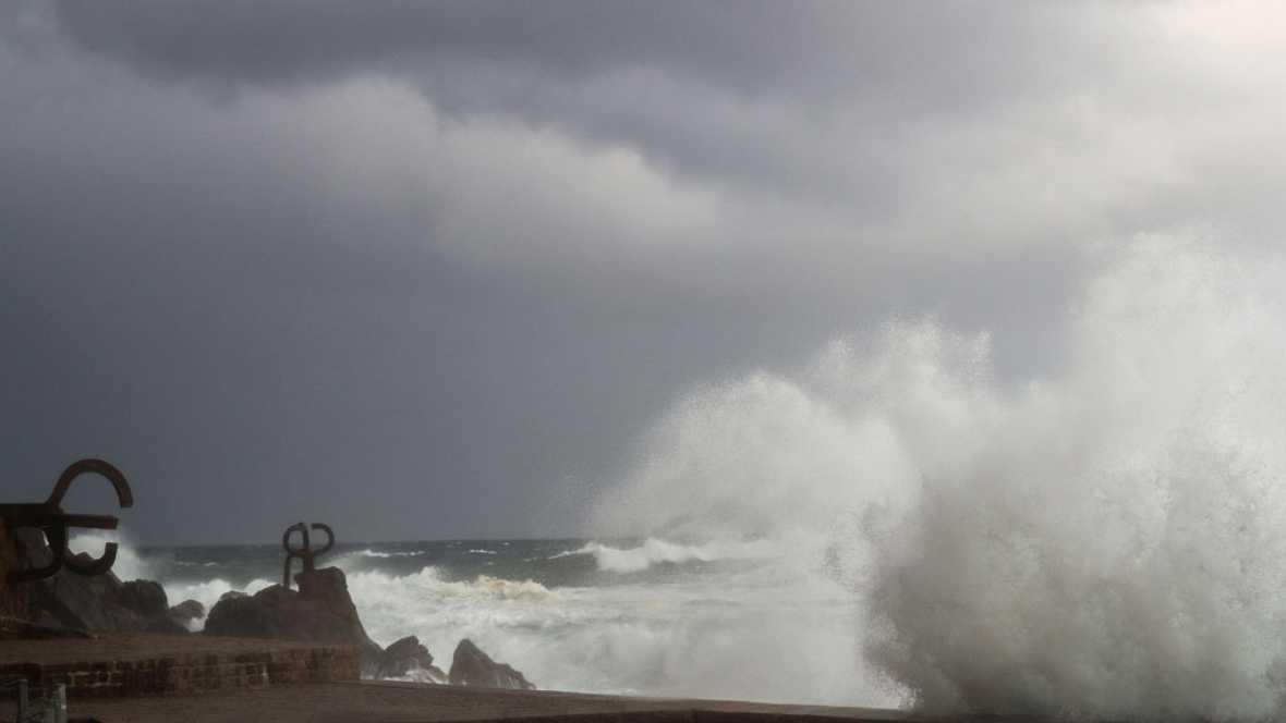 Viento fuerte del norte y lloverá en el noreste y Baleares
