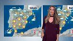 Viento fuerte del norte y lluvias en el noreste y Baleares