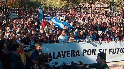 Más de 30.000 personas inundan las calles de Talavera para reinvindicar un futuro para la ciudad