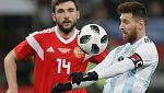 Fútbol - Amistoso Internacional: Rusia - Argentina