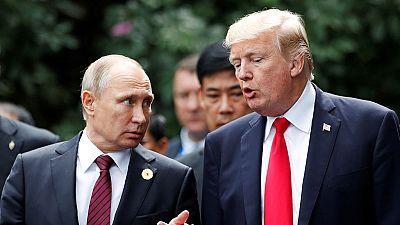 """Trump y Putin aseguran que no hay """"una solución militar"""" para la guerra en Siria"""