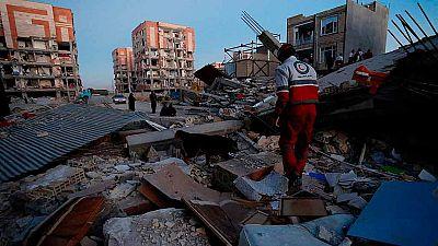 Decenas de muertos en Irán en un terremoto cerca de la frontera con Irak