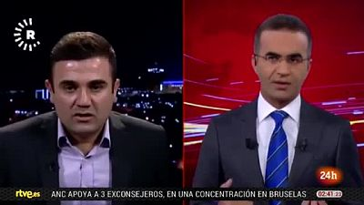 El terremoto en Irán e Irak sorprende en plena emisión de una televisión kurda