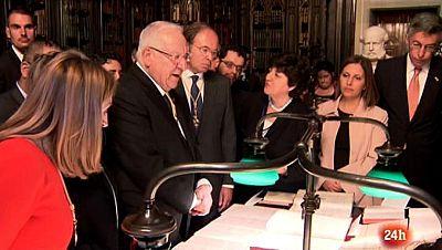 Parlamento - Conoce el parlamento - Visitas de estado: el presidente de Israel en el Senado - 11/11/2017