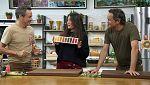 Torres en la cocina - Lentejas al curry y cuajada de caqui