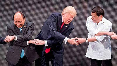 Arranca en manila la cumbre de la ASEAN, con Trump entre los participantes