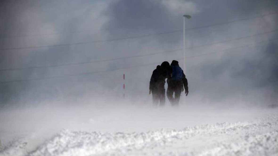 Las temperaturas descienden en todo el país y la cota de nieve se situa en los 1600-1800 metros