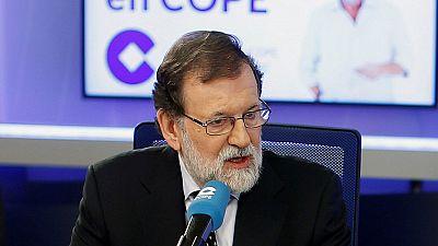 """Rajoy reprocha a Puigdemont haber """"engañado"""" a los catalanes con que la independencia era posible"""