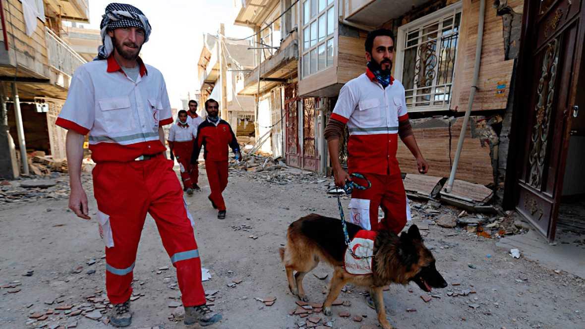 Las autoridades de Irán dan por terminada la búsqueda de supervivientes del terremoto