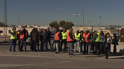 Reunión entre la DGT con examinadores de tráfico, que llevan cuatro meses en huelga