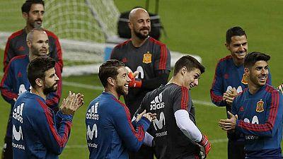 España disputa ante Rusia su último partido de 2017
