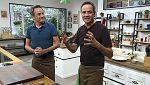 Torres en la cocina - Judías verdes con coco y pechuga de pavo rellena