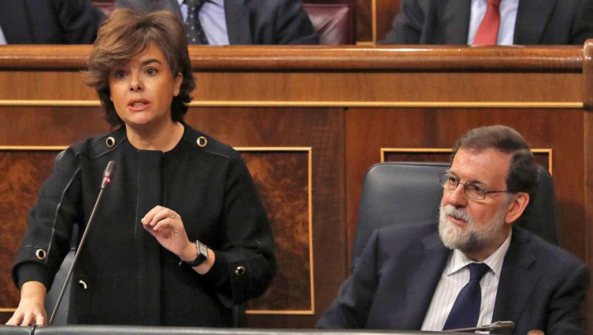 Resultado de imagen de El PSOE pide que Sáenz de Santamaría informe sobre las posibles injerencias rusas en la crisis en Cataluña