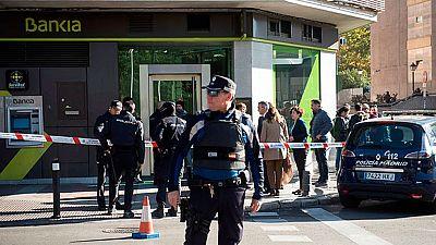 Detenido el autor de un atraco con rehenes en una sucursal bancaria de Madrid