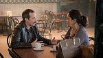 Estoy Vivo - Óscar le reclama a Laura una oportunidad