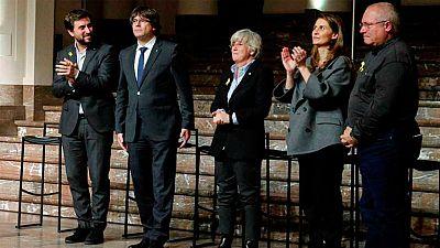 Puigdemont y cuatro exconsellers declaran este viernes ante un Tribunal belga