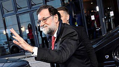 Rajoy se reúne con el primer ministro belga el día de la declaración de Puigdemont en Bruselas