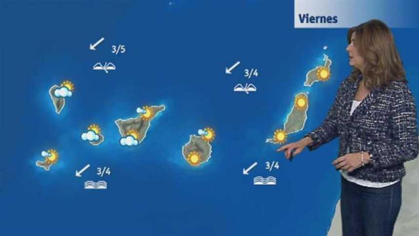 El tiempo en Canarias - 17/11/2017