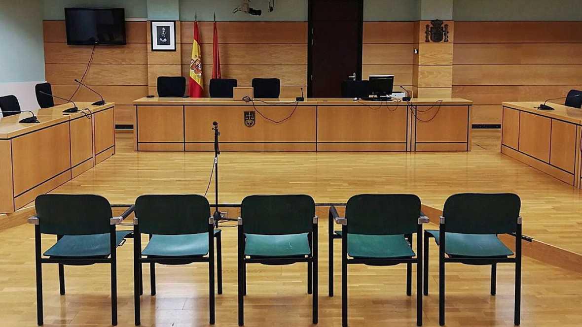 Quinta sesión del juicio contra los cinco acusados de violar a una joven en los sanfermines de 2016