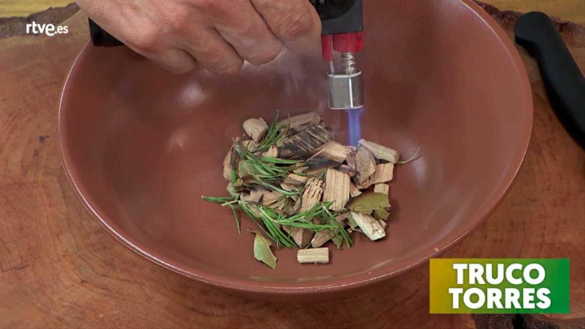 Trucos de cocina - Cómo ahumar las setas