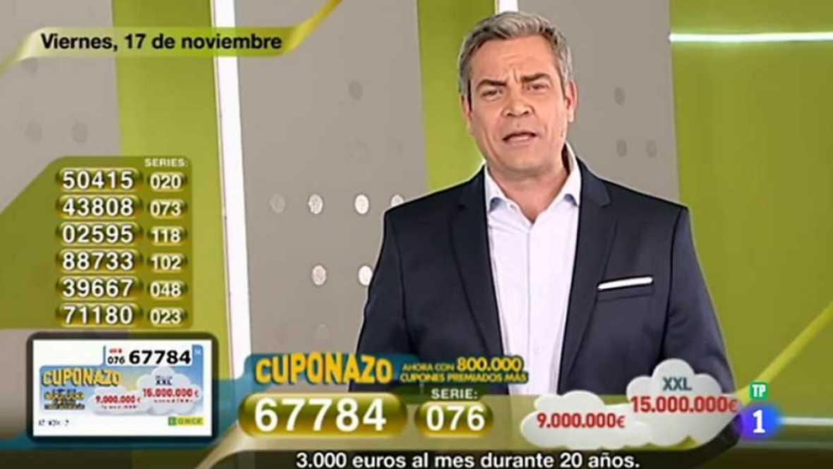 Sorteo ONCE - 17/11/17 - ver ahora