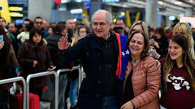 """Ledezma llega a España: """"Venezuela está metida en el abismo"""""""