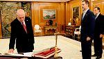 Los reyes, políticos y juristas lamentan la muerte del fiscal general, José Manuel Maza