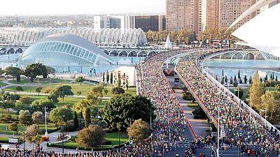 """Atletismo - Maratón Valencia """"Trinidad Alfonso 2017"""" - ver ahora"""