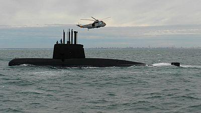 Detectan siete llamadas fallidas desde el submarino argentino desaparecido