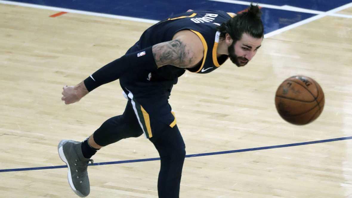 El base de los Jazz fue el mejor español en la jornada de la NBA, en la que Marc Gasol perdió con los Grizzlies.