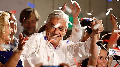 Piñera gana la primera vuelta de las presidenciales en Chile
