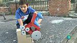 Niños inventores apasionados de la ciencia